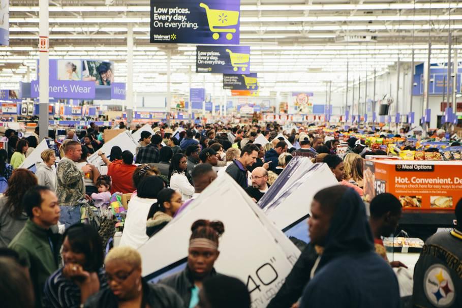 black friday walmart scarcity