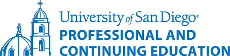 University of San Diego Professional and Continuing Education Logo