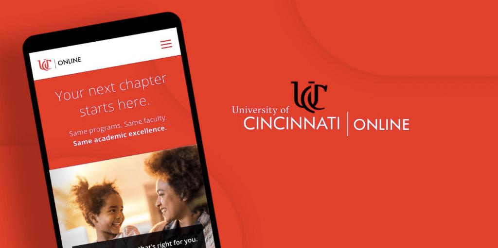 University of Cincinatti Website Design