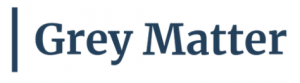 Grey Matter Industrial and Manufacturing Marketing Agency Logo